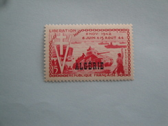 1954  Algérie Yvert  312  ** Bateaux Ships War II Scott 254  Michel 324 SG  Xx  D Day - Neufs