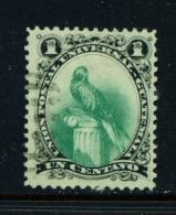 GUATEMALA  -  1881  Quetzal  1c  Used As Scan - Guatemala