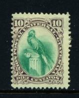 GUATEMALA  -  1881  Quetzal  10c  Mounted/Hinged Mint - Guatemala