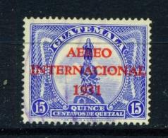 GUATEMALA  -  1931  Air  15c  Used As Scan - Guatemala