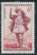 France - YT 943 - Théatre Français - Gargantua (1953) AVEC TRACE DE CHARNIERE - France