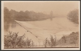 Unknown Weir, C.1910 - RP Postcard - Postcards