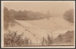 Unknown Weir, C.1910 - RP Postcard - To Identify
