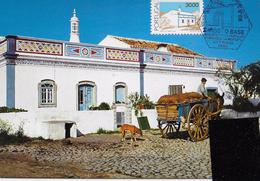 CARTE MAXIMUM - MAXICARD - MAXI POST CARD - MAXIMUM CARD - PORTUGAL - ARCHITECTURE POPULAIRE - Maison D´Algarve - Cartes-maximum (CM)