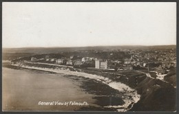 General View Of Falmouth, Cornwall, 1910 - RP Postcard - Falmouth
