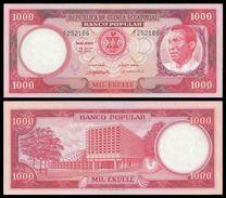Equatorial Guinea 1000 BIPKWELE 1975 P 8 UNC - Guinée