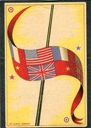CPA - Drapeau Des Alliés - Regiments