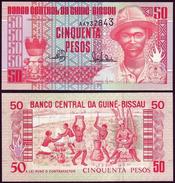 Guinea Bissau 50 PESOS 1990 P 10 UNC - Guinée