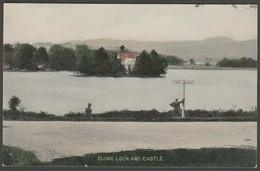 Clunie Loch & Castle, Blairgowrie, Perthshire, C.1905 - Postcard - Perthshire