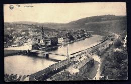CPA ANCIENNE- BELGIQUE-  TILFF- VUE PANORAMIQUE- LE PONT- LA TOUR- LA GARE- GROS PLAN - Esneux