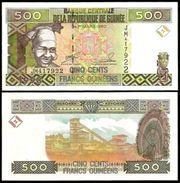 Guinea 500 FRANCS 1998 P 36 UNC - Guinée