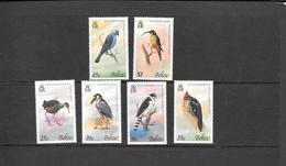 Belize Mi 402-407 MNH 1979 Birds - Belize (1973-...)