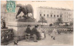 06 NICE - Le Tigre Des Jardins   (Recto/Verso) - Parcs Et Jardins