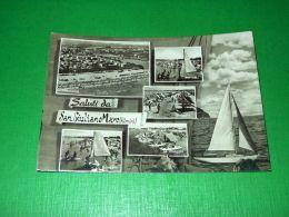 Cartolina Saluti Da San Giuliano Mare - Vedute Diverse 1955 Ca - Rimini