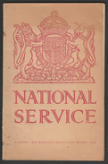 National Service Booklet, H.M.S.O., 1939 - War 1939-45