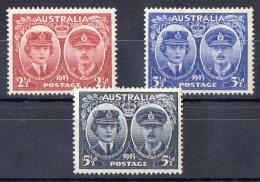 Australia 1945 Gloucester Set Of 3 MH - 1937-52 George VI