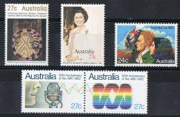 Australia 1982 Selected Issues MNH - 1980-89 Elizabeth II