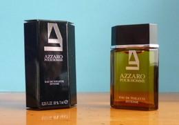"""MINIATURES : AZZARO POUR HOMME EAU DE TOILETTE """""""" INTENSE """""""" 7 ML - Miniatures Hommes (avec Boite)"""