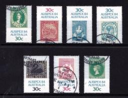 Australia 1984 Ausipex 84 Set Of 7 Used - 1980-89 Elizabeth II