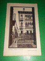 Cartolina Vicenza - Palazzo Da Schio - Xilografia Di A. Dall' Amico 1930 Ca - Vicenza