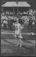 1912 Sweden Stockholm Olympics Official Postcard 210 Sigge Jakobsson Swedish Marathon Runner - Olympic Games