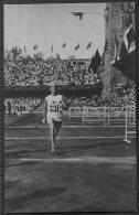 1912 Sweden Stockholm Olympics Official Postcard 212 Sigge Jakobsson - Best European In Marathon - Olympic Games