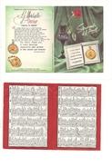 $3-5440 Calendario Tascabile La Medaille D'amour 1966 Augis - Calendari