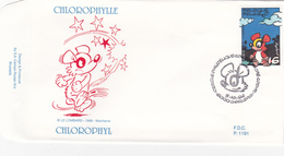 FDC  Chlorophylle   - Philatélie De La Jeunesse 1996 - Cachet 1er Jour - Charleroi - Timbre N° 2663 - Philabédés