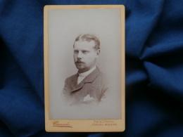 Photo CDV Camacho - Funchal Madeira - Portrait Jeune Homme Datée 1884 L314 - Anciennes (Av. 1900)