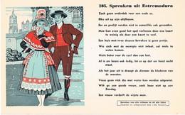 Vloeipapier Buvard Blotter 105 Spreuken Uit Estremadura - Buvards, Protège-cahiers Illustrés