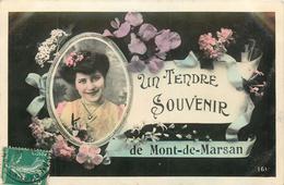 40 MONT DE MARSAN Un Tendre Souvenir    2 Scans - Mont De Marsan