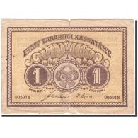Estonia, 1 Mark, 1919-1920, KM:43a, 1919, B - Estonie