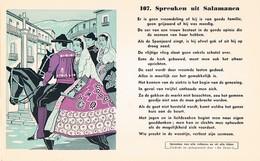 Vloeipapier Buvard Blotter 107 Spreuken Uit Salamanea - Buvards, Protège-cahiers Illustrés