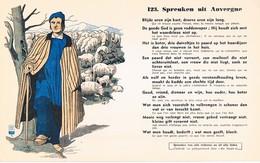 Vloeipapier Buvard Blotter 123 Spreuken Uit Auvergne - Buvards, Protège-cahiers Illustrés