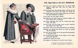 Vloeipapier Buvard Blotter 143 Spreuken Uit Het Jiddisch - Buvards, Protège-cahiers Illustrés