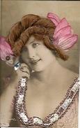 Femme Avec Vrais Cheveux Carte Fantaisie - A Systèmes