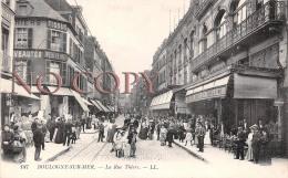 62 - Boulogne Sur Mer - La Rue Thiers - Boulogne Sur Mer