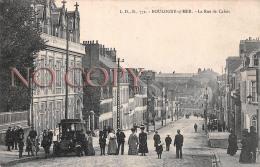 62 - Boulogne Sur Mer - La Rue De Calais - Voiture Ancienne Automobile - Boulogne Sur Mer