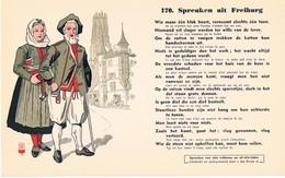 Vloeipapier Buvard Blotter 170 Spreuken Uit Freiburg - Buvards, Protège-cahiers Illustrés