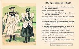 Vloeipapier Buvard Blotter 174 Spreuken Uit Illyrië - Buvards, Protège-cahiers Illustrés