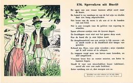 Vloeipapier Buvard Blotter 176 Spreuken Uit Dacië - Buvards, Protège-cahiers Illustrés