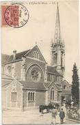 Arcachon Eglise Sainte Marie Circulee En 1907 - Arcachon