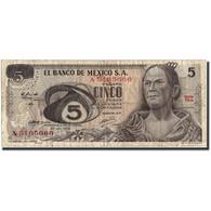 Mexique, 5 Pesos, 1972, 1972-06-27, KM:62c, TB - Mexico