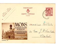 Entier CP Publibel 811 Mons NF Oblitéré Wezembeek-Oppem 1948  AP1056 - Werbepostkarten