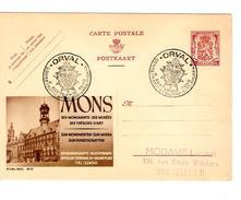 Entier CP Publibel 810 Mons FN Oblitéré Orval 1948  AP1057 - Ganzsachen
