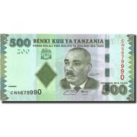 Tanzania, 500 Shilingi, Undated (2010), KM:40, NEUF - Tanzania