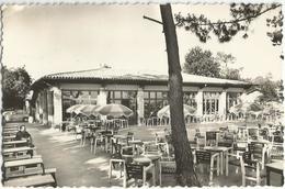 Le Mauret Andernos Le Casino Neptune Et Sa Terrasse Circulee En 1953 - Andernos-les-Bains