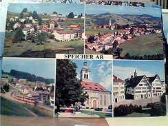SUISSE SVIZZERA SPEICHER VUES   VB1980 SELO STAMP TIMBRE GC14042 - AR Appenzell Rhodes-Extérieures