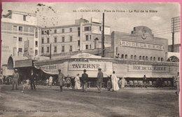 CASABLANCA - Place De France - Le Roi De La Bière - Casablanca