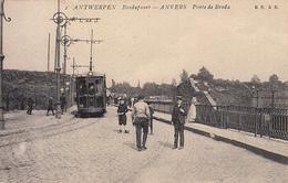 Antwerpen Anvers - Bredapoort - Porte De Breda (animation, Tram, Tramway, E S à B) - Antwerpen